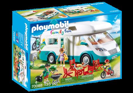 Playmobil 70088 Familien-Wohnmobil Camping-Fahrzeug Familienausflug Reisemobil