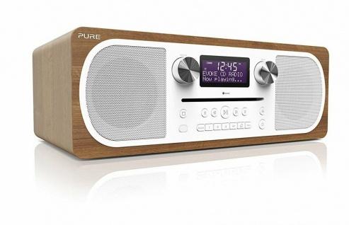 Pure Evoke C-D6 Digital-Radio DAB+ CD Bluetooth Kompakt-Anlage All-in-One System