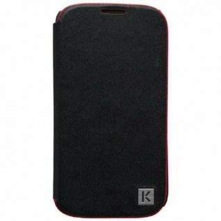 Kenzo Flip-Cover Klapp-Tasche Hülle Case Bag für Samsung Galaxy S4 i9500 i9505