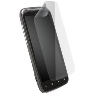 Krusell DELUXE Set Display Schutz Folie Schutzfolie Klar für HTC Sensation / XE