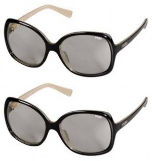 2x PACK EX3D Damen 3D Brille passiv Polfilterbrille für HD 3D-TV PC Kino RealD