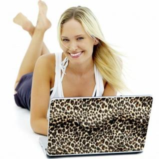 """Speedlink LARES Notebook Skin 15"""" 16"""" Leopard Fell Aufkleber Cover Schutz-Folie - Vorschau 4"""