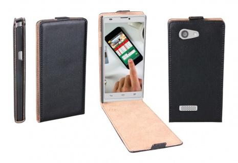 Patona Slim Flip-Cover Klapp-Tasche Schutz-Hülle Case Cover für ZTE Blade L2