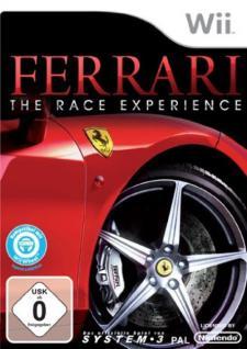 System 3 Ferrari The Race Experience Spiel Game für Nintendo Wii WiiU Wii U