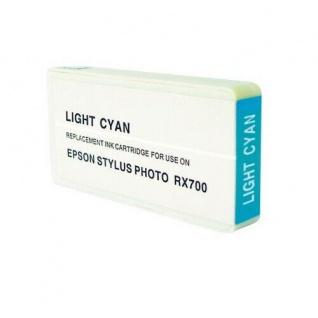 Hama Analoge Druckerpatrone für E59 Epson Stylus Photo RX700 Light Cyan Blau