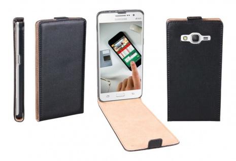 Patona Slim Flip Klapp-Tasche Schutz-Hülle Case für Samsung Galaxy Grand Prime