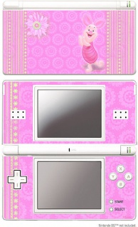 Design Folie Schutzfolie Skin Motiv Winnie Pooh Ferkel für Nintendo DS Lite NDS