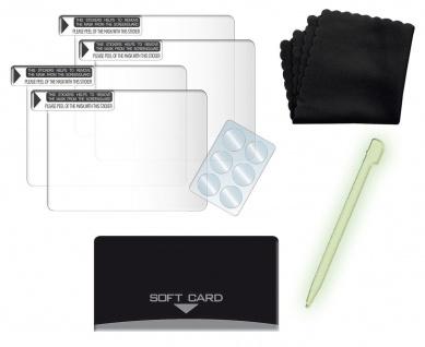 Brooklyn Screen Set Displayschutz-Folie + leucht Stift für Nintendo DSi Display