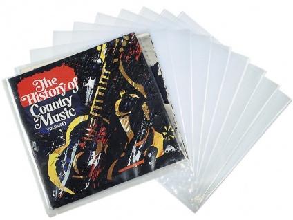 Hama 10x LP Außen-Hüllen Tasche Schutz-Hülle für Schallplatte Maxi Vinyl