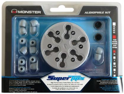 Monster Super-Tips XS Foam Ersatz-Ohrstöpsel Ohrpolster Ohrhörer InEar Kopfhörer