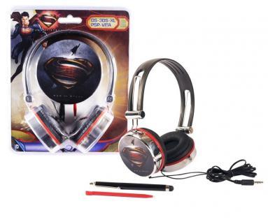 Superman Gaming Headset Kopfhörer 3, 5mm für Sony PS Vita Vita Slim PSP Konsole