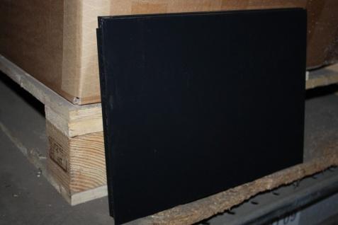 USM Haller Blech Ersatz-Tablar 35x25 350x250 schwarz Ral 9011 Boden Einsatz Wand