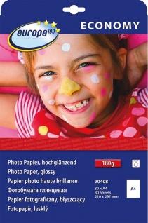 Avery 30x Blatt A4 180g/m² Foto Papier hochglanz Fotopapier Tintenstrahl Drucker
