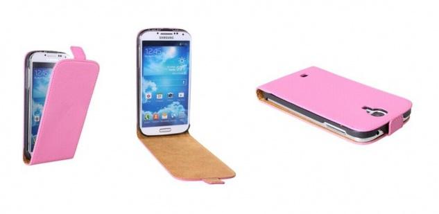 Patona Slim Flip Klapp-Tasche Schutz-Hülle Cover für Samsung Galaxy I9500 S4 - Vorschau 4