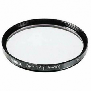 Hama Skylight-Filter 49mm Sky-Filter 1A HTMC-vergütet für DSLR DSLM Kamera Foto - Vorschau 1
