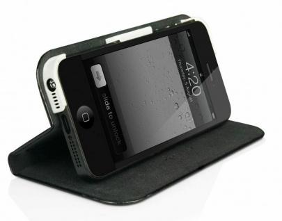 Macally Schutz-Hülle Slim-Case Cover Klapp-Tasche Etui für Apple iPhone SE 5 5S - Vorschau 2