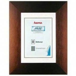 Hama Aluminium Bilder-Rahmen Seattle Mokka 40x50cm ALU-Rahmen Bilderrahmen Foto