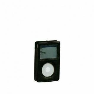 TASCHE AUFBEWAHRUNG für iPod Nano 3 Kunstleder schwarz