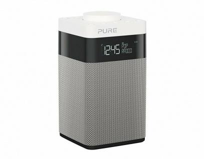 Pure POP Midi Digital-Radio DAB DAB+ FM UKW Küchen-Radio mit Display + Akku-Fach