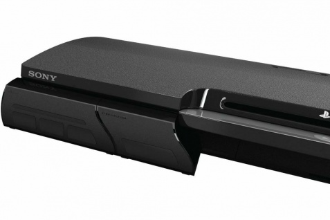 Gioteck IN2LINK 4-Fach USB Hub Modul USB Port Adapter für Sony PS3 Slim Konsole