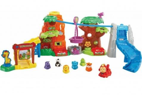 Vtech Tip Tap Baby Tiere Safari-Park Freizeit-Park Spiel-Set Figuren Spielzeug