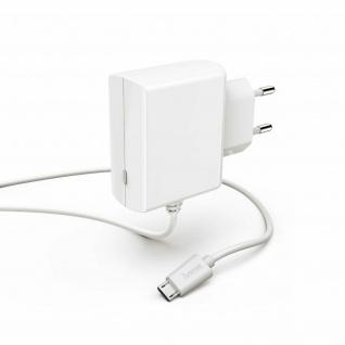 Hama Ladegerät Micro-USB Schnell Laden LED-Licht Ladekabel 1m für Handy Tablet