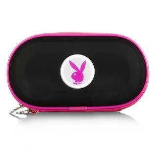 Playboy Hardcase Tasche BK für PSP Slim&Lite Street E1004 3004 3000 2004 2000 ..
