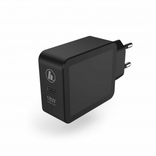 Hama USB-C Power Schnell Ladegerät Adapter Charger Netzteil 18W