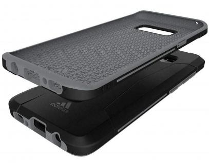 Adidas Solo Black Cover Hard-Case Tasche Schutz-Hülle Box für Samsung Galaxy S8 - Vorschau 3