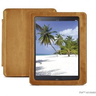 Speedlink Pad Wallet Klapp-Tasche für Apple iPad 1 1G Cognac-braun Schutz-Hülle