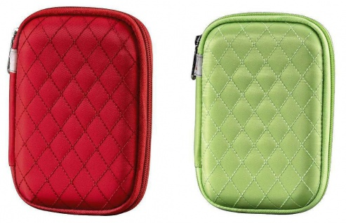 2x Hama Bahia Speicherkarten-Tasche Memory Card Case Tasche Etui für SDHC SD CF