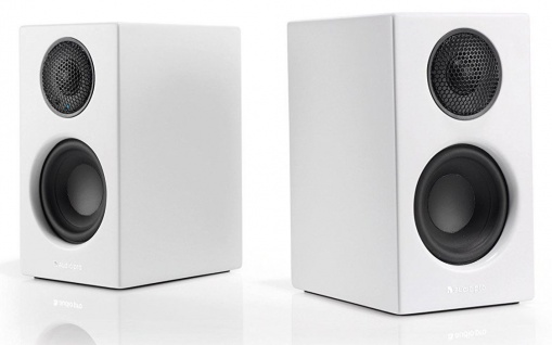 Audio Pro Addon T8L White Bluetooth 2x Aktiv Regal-Lautsprecher Boxen BT Speaker