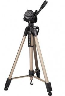 Hama Dreibein-Stativ Star 62 160cm 3D 3-Wege-Kopf Kamera-Stativ Foto-Stativ