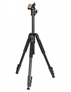 Hama Dreibein-Stativ Traveller 163 cm Ball 3D Kamera-Stativ Foto-Stativ Reise