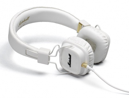 Marschall Major II White On-Ear Headset Black Studio Kopfhörer Headphones Handy