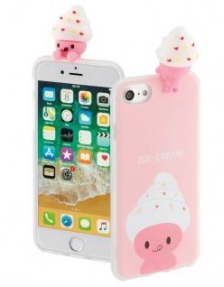 Hama 3D Cover Soft-Eis Schutz-Hülle Case Schale für Apple iPhone 7 8 SE 2020 2G