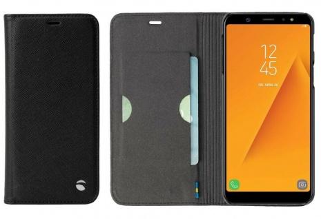 Krusell Folio Wallet Tasche Smart Hülle Case Cover für Samsung Galaxy A6+ 2018