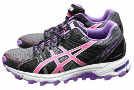 Asics Gel Fuji Trabuco T2B8N Laufschuhe EUR 40 UK 6, 5 Schuhe Running Jogging - Vorschau 1