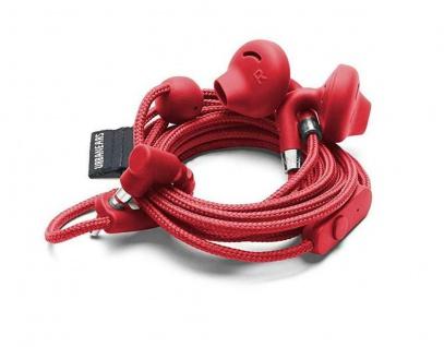 Urbanears Sumpan In-Ear Headset Tomato Ohrhörer Kopfhörer Mikro + Fernbedienung