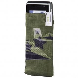 aha Handy-Socke Linear Handysöckchen Socke Köcher-Tasche Etui Schutz-Hülle Case