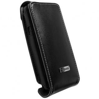 Krusell Flip Case Handy-Tasche für HTC EVO 3D Etui Bag Schutz-Hülle Klapp-Tasche