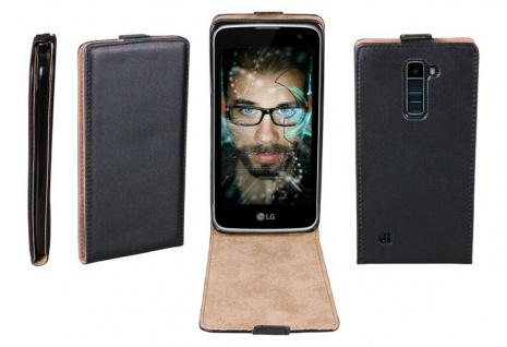 Patona Slim Flip-Cover Klapp-Tasche Schutz-Hülle Case Cover für LG K10