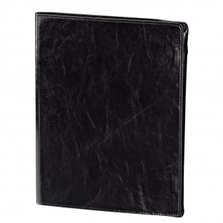 Hama Tasche Alicante Leder Black Smart Case für iPad 3 4 Etui Cover Schutz-Hülle