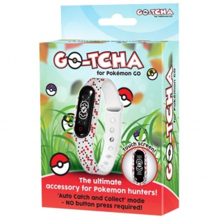 Datel Go-Tcha LED Touch-Armband Gotcha Band plus Kabel für Nintendo Pokémon GO