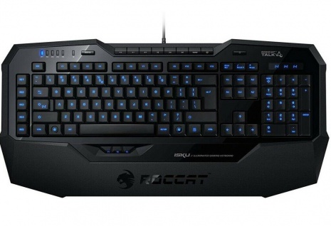 Roccat Isku Illuminated Gaming Tastatur USB LED Spanien ES Layout Gamer Keyboard