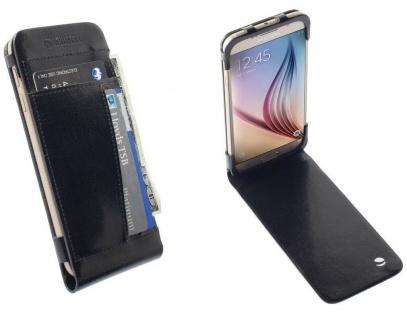 Krusell Folio Tasche Smart Hülle Case Cover Wallet für Samsung Galaxy S6 S6 Edge