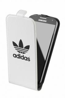 Adidas Flip-Cover Klapp-Tasche Schutz-Hülle Case Etui Bag für Samsung Galaxy S4