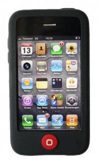 Hama Silikon Skin Hülle Handy-Tasche Cover Etui Bumper für Apple iPhone 3G 3GS