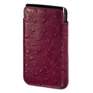 Hama Famous Leder Tasche Case Etui für Blackberry Torch 9860 9800 Bold 9900 9790