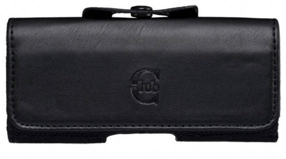 Bigben Club Slim Handy-Tasche Schutz-Hülle Case Gürtel-Tasche Quertasche Etui